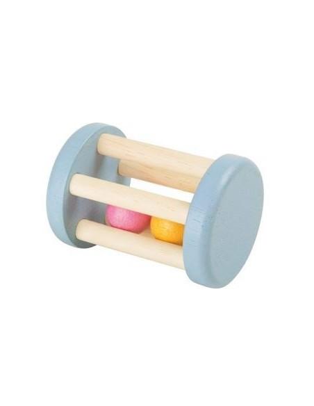 Hochet cage boules pastel