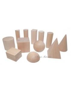 12 solides géométriques