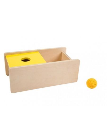 Boîte couvercle basculant balle - déstock