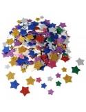 Gommettes paillettes étoiles