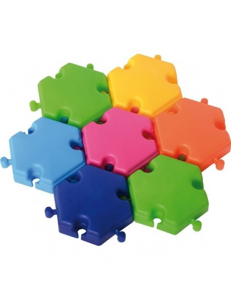 Blocs géants de construction hexagonaux