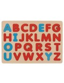 Puzzle alphabet, couleurs Montessori