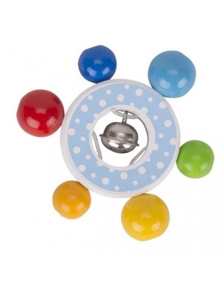 Hochet multicolore Confetti