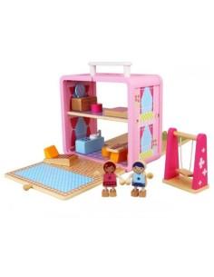 Mallette Maison de poupées