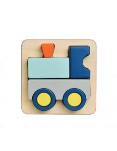 Puzzle relief Train