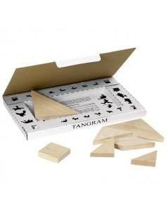 Tangram coffret bois