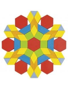 250 Mosaiques bois