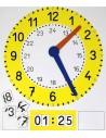 Horloge magnétique et lot de chiffres