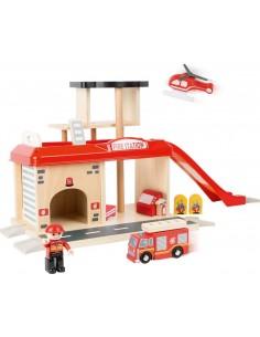 Caserne de pompiers et accesssoires