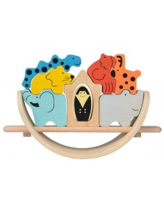 Arche de Noé - Puzzle culbuto
