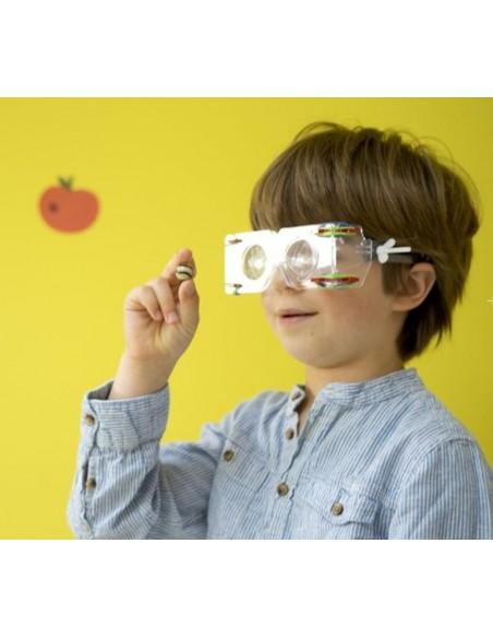 Construis des lunettes vision animale