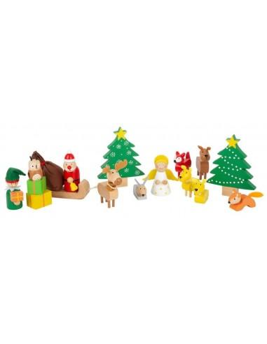 Set de figurines de Noel
