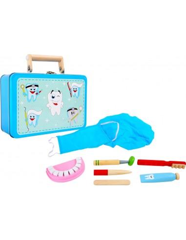 Valisette déguisement dentiste