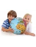 Globe gonflable 42cm Merveilles du Monde