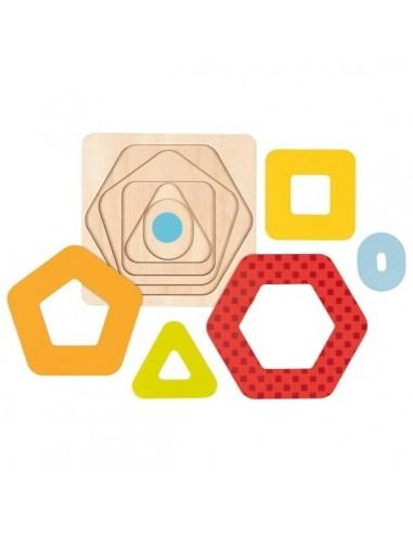 Puzzle à couches Les Formes