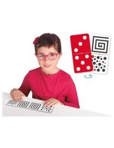 Domino tacto-visuel