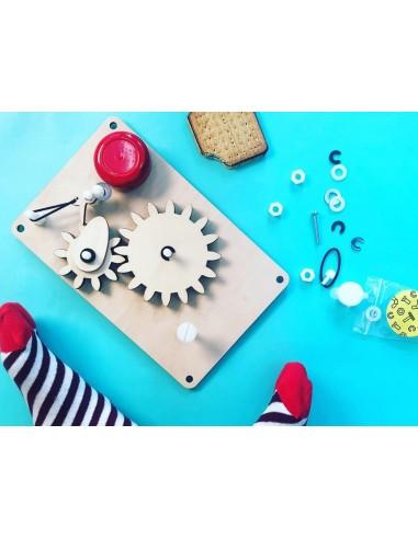 Fabrique une sonnette à engrenages