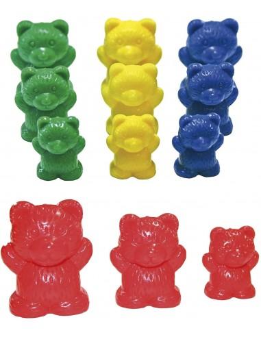 96 oursons de tri / 4 couleurs