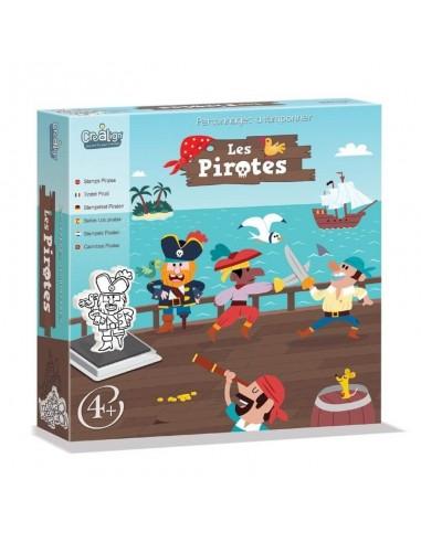 Coffret Tampons Les Pirates