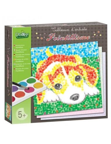Pointillisme Animaux colorés