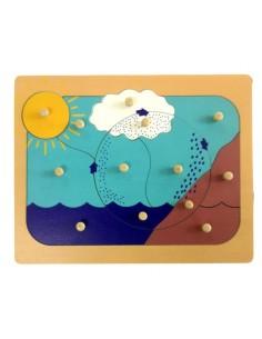 Puzzle Cycle de l'eau