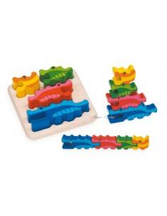 Puzzle des crocodiles