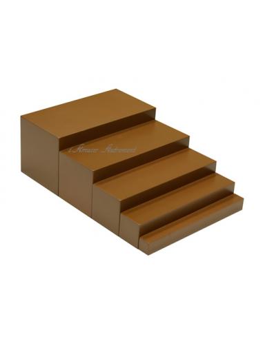 Mon 1er escalier marron haut de gamme montessori s 39 amuser autrement - Escalier haut de gamme ...