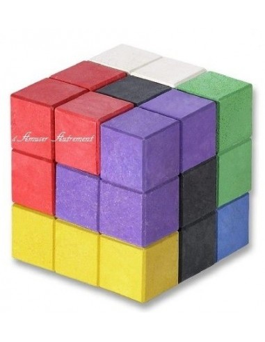 Soma cube coloré