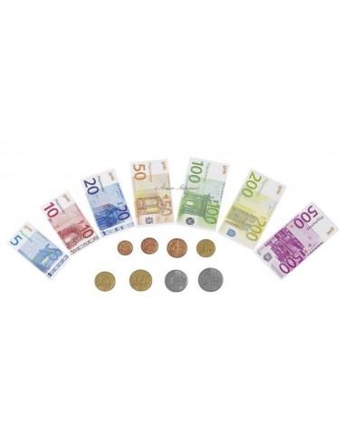 Set de billets et de pièces
