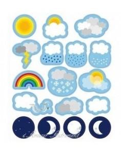 Gommettes météo