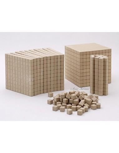 121 pièces bois - base 10