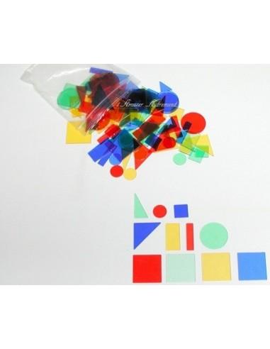 Formes géométriques transparentes