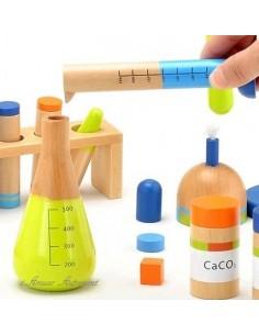 Coffret chimie bois