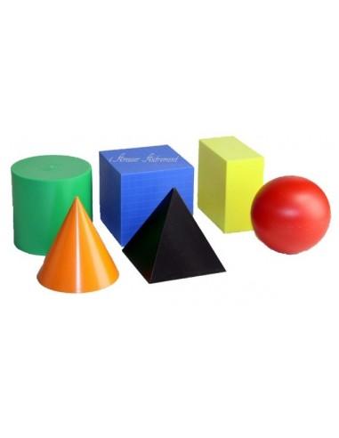 Volumes géométriques colorés